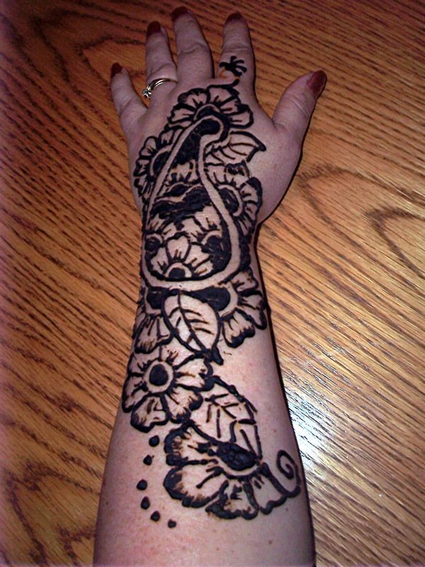 Henna Butterfly on Hand